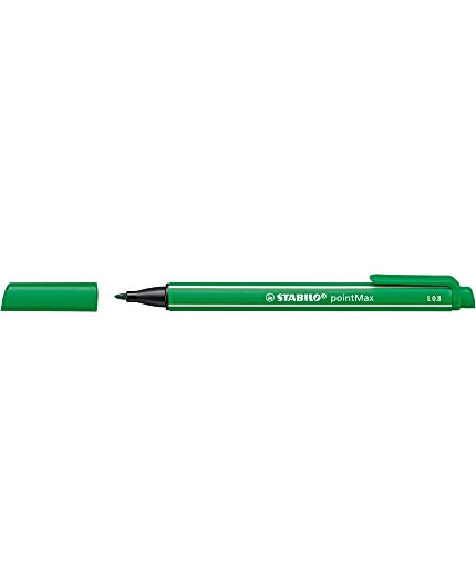 Fineliner STABILO Point Max grön