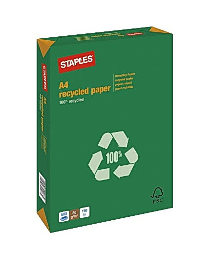 Kop.ppr STAPLES Recycled A4 80g oh (500)
