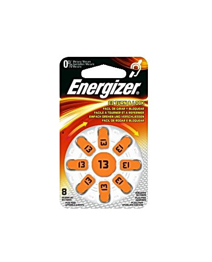 Batteri Energizer Hörsel 13 Orange, 8/fp