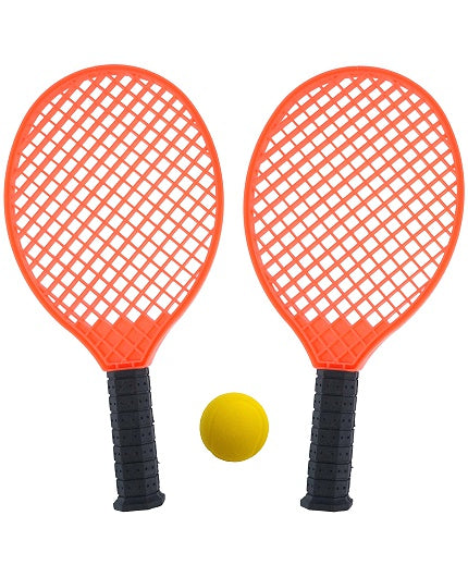 Strandtennis-set orange
