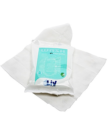 Tvättservett LIV Body Wipes 8/FP
