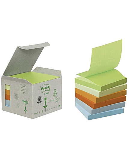 Notes POST-IT Z-block76x76mm paste 6/fp