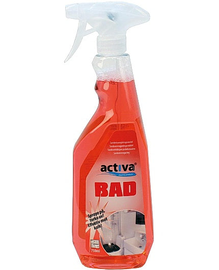Sanitetsrengöring ACTIVA Bad 750ml