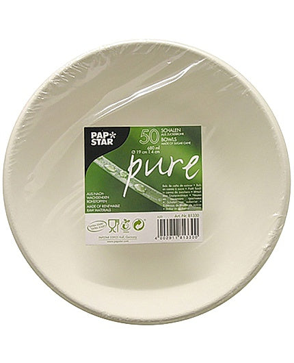 Skål PURE Bagasse 680 ml  50/FP