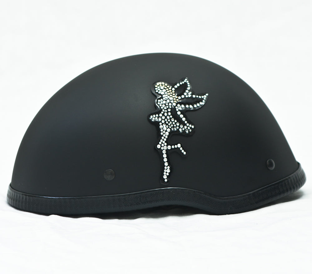 Rhinestone Helmet Patch Fairy