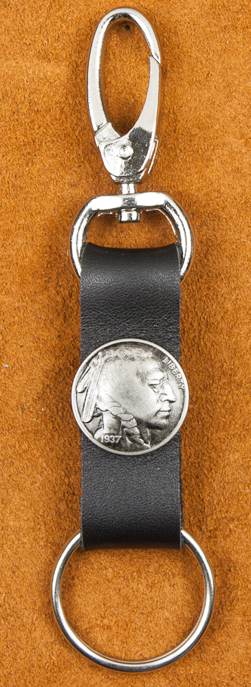 Key Ring Indian Head Nickel