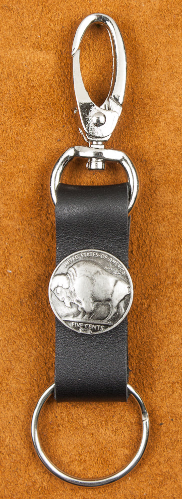 Key Ring Buffalo Nickel