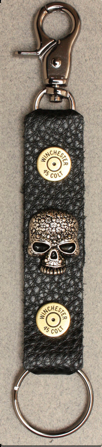 Deluxe Key Ring Skull w/ Shells