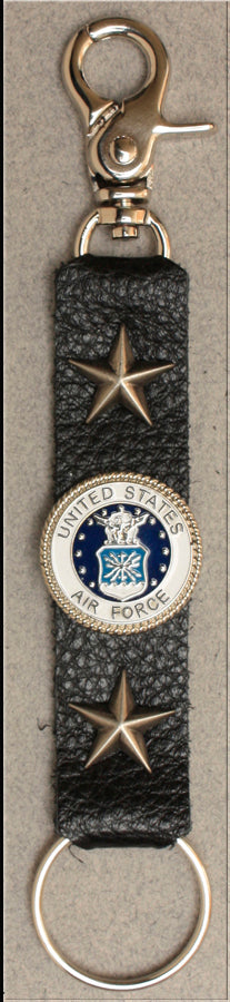 Deluxe Key Ring Air Force w/ Stars