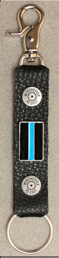 Deluxe Key Ring Thin Blue Line
