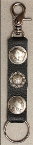 Deluxe Key Ring Buffalo Nickel/Indian Head