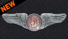 Road Wings Indian Head Penny
