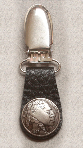 Boot Clips Indian Head Nickel