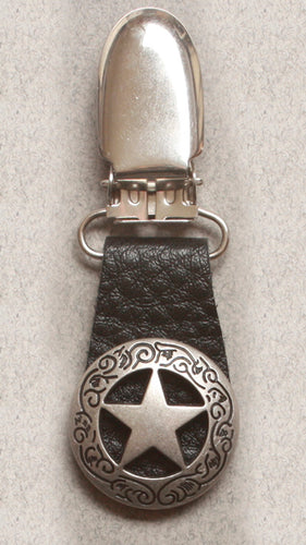 Boot Clips Texas Star