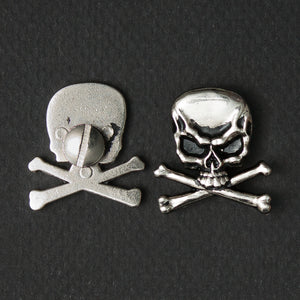 Screw On Concho Skull (pair)