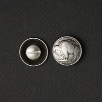 Screw On Buffalo Nickel (pair)
