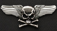 Road Wings Skull & Crossbones
