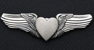 Road Wings Heart