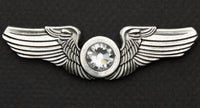 Road Wings Swarovski Rhinestone