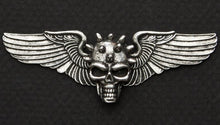 Road Wings Spiked Skull