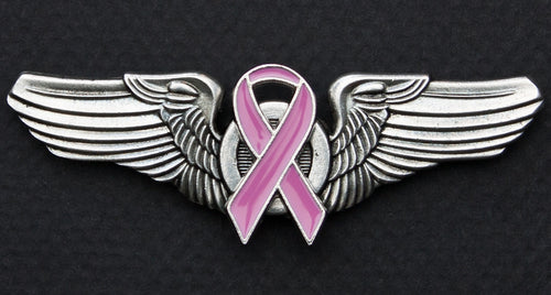 Road Wings Pink Ribbon
