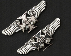Road Wings Iron Cross