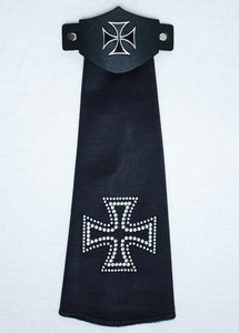 Spandex Hairtube Iron Cross
