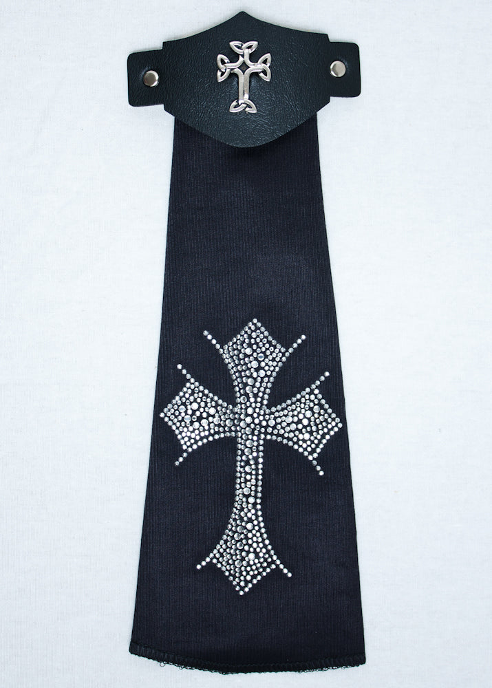 Spandex Hairtube Celtic Cross