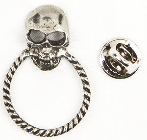 Sunglass Holder Pin Skull