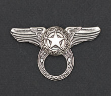 Sunglass Holder Pin Winged Texas Star