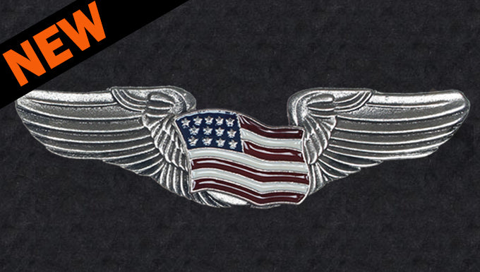 Road Wings U.S. Flag
