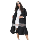 Women's Flared Bottom Coat - Arista Gems