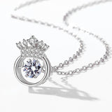 Crown Heart Pendant - Arista Gems