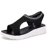 Ladies Walking Platform Sandals