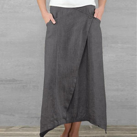 Women's Cotton Maxi Skirt - Arista Gems