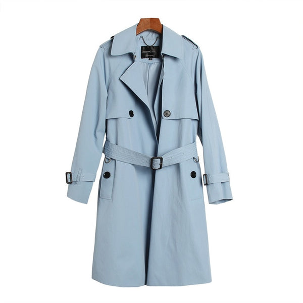 JAZZ Trench Coat With Belt - Arista Gems