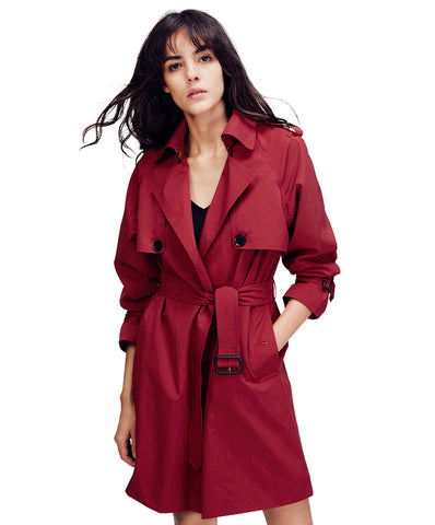 JAZZ Trench Coat With Belt