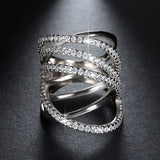 Shiny CZ Vintage Luxury Ring - Arista Gems