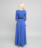 Half Sleeve Thin Long Maxi Dress - Arista Gems