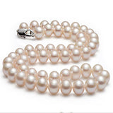 Natural Round Pearl Necklace - Arista Gems