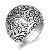Antique Plant Pattern Ring - Arista Gems