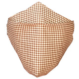 Rena Organic Cotton Plaid Protective Face Cover
