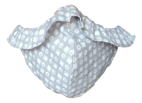 Baby Love Organic Cotton Ruffle Protective Face Cover