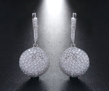 Sterling Silver 925 Earrings Round Shape Earrings - Arista Gems