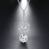Sterling Silver Pendants And Chain Necklace - Arista Gems