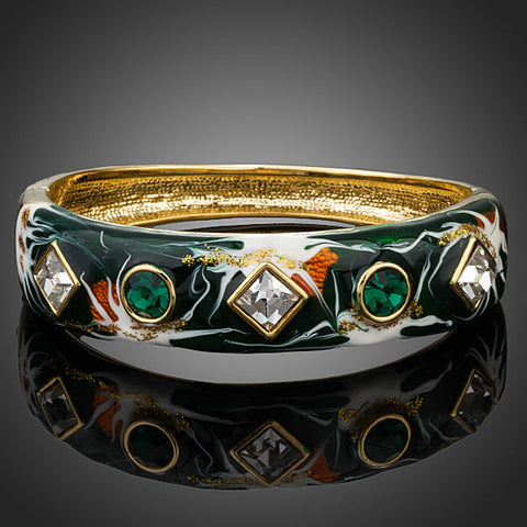 Arista Gems Austrian Crystal Multi-color Bangle