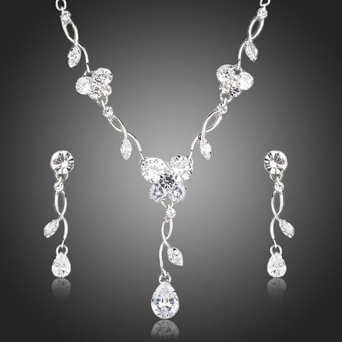 Drop Earrings and Pendant Necklace Jewelry Sets - Arista Gems
