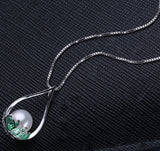 Genuine Natural Pearl Silver Chocker Necklace - Arista Gems