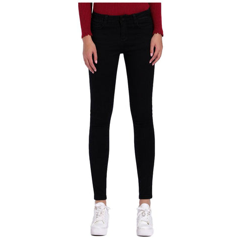 Women's Skinny Black Pencil Casual Jeans - Arista Gems