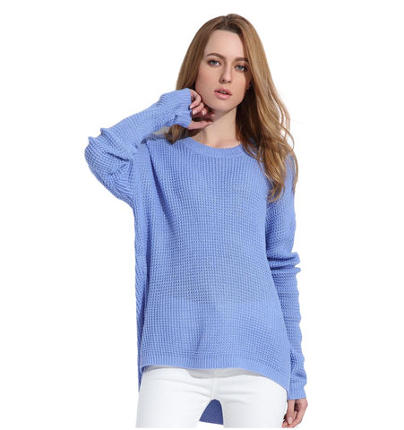 Women's Pullover long Sleeve Spring Sweater - Arista Gems